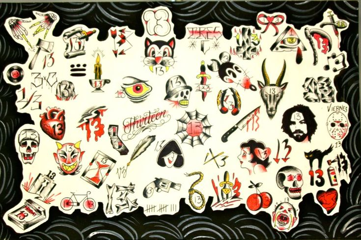 Its Almost Friday The 13Th Tattoos Piercings Ideas And Designs