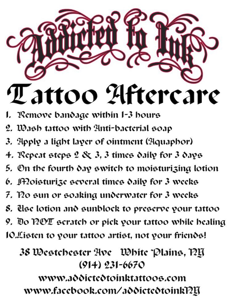 Tattoo Aftercare Tattoo Ideas Pinterest We Lotion Ideas And Designs