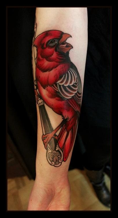 1000 Ideas About Red Bird Tattoos On Pinterest Red Ideas And Designs