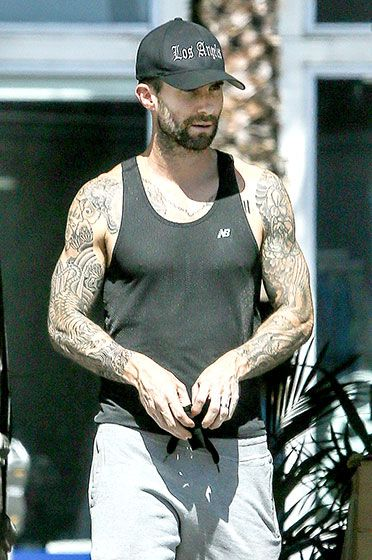 Welcome To The Gun Show Y All Adam Levine S Tattoos Were Ideas And Designs