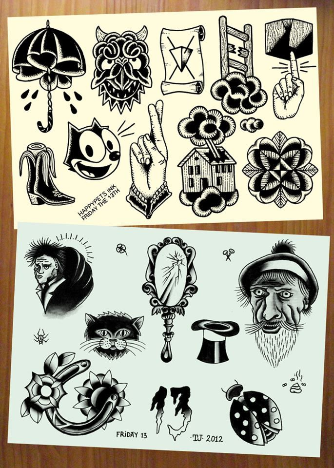 23 Best First Tattoo Lucky 13 Tattoo Designs Ideas Images Ideas And Designs