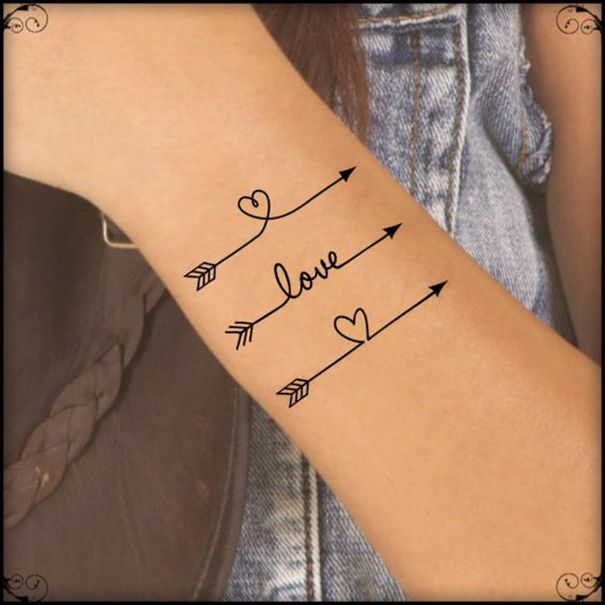 Best 25 Simple Arrow Tattoo Ideas On Pinterest Arrow Ideas And Designs