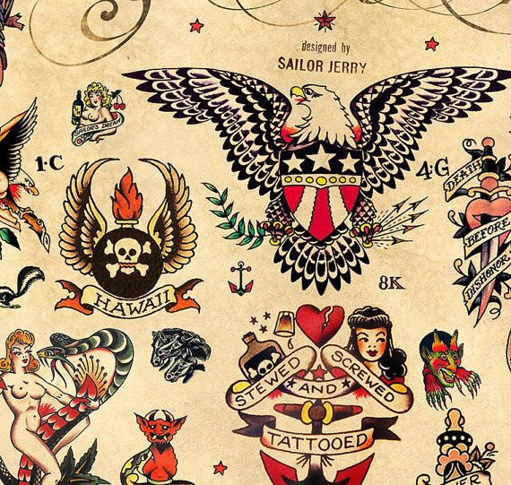 1000 Ideas About Sailor Jerry Tattoos On Pinterest Ideas And Designs