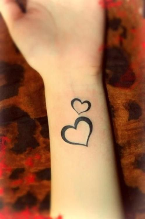 17 Best Ideas About Heart Tattoos On Pinterest Simple Ideas And Designs