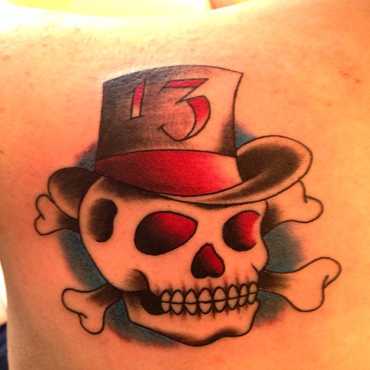 17 Best Images About First Tattoo Lucky 13 Tattoo Designs Ideas And Designs