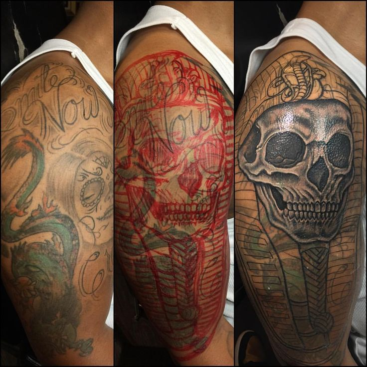 Cover Up Done By Ryan Henry Owner Of 9 Mag Chicago Black Ideas And Designs