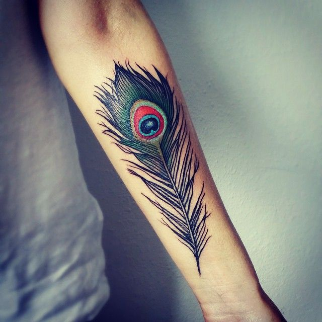 35 Colorful Peacock Feather Tattoo Meaning Designs Check Ideas And Designs