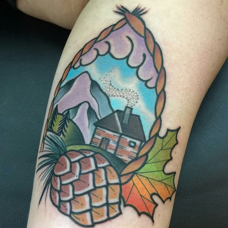 17 Best Ideas About Cabin Tattoo On Pinterest House Ideas And Designs