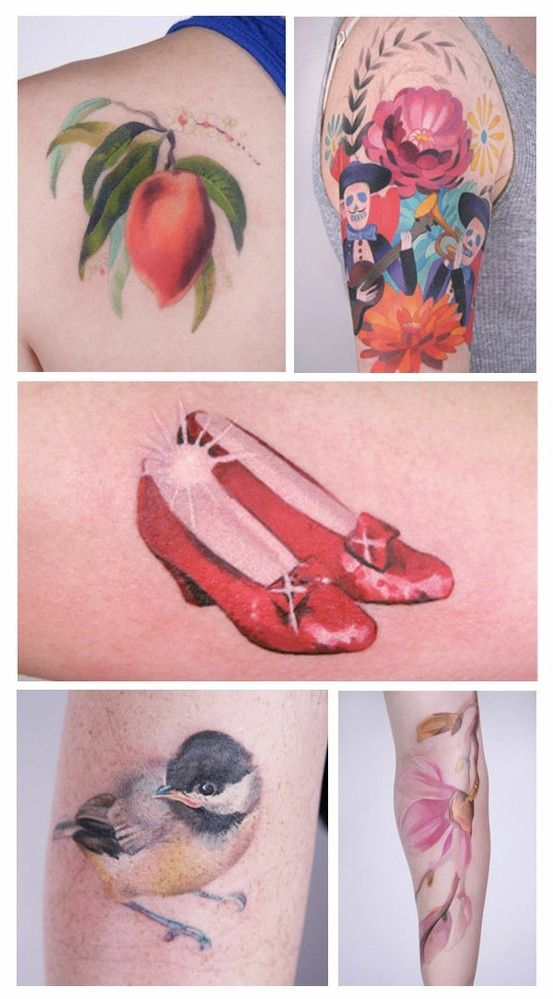 39 Best Images About 3D Realistic Nature Tattoos On Ideas And Designs