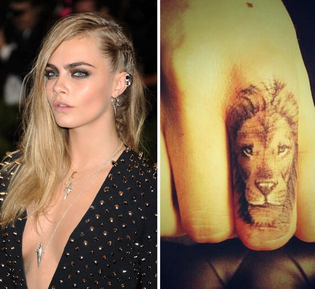 Supermodel Cara Delevingne Shared A Picture Of Her New Ideas And Designs