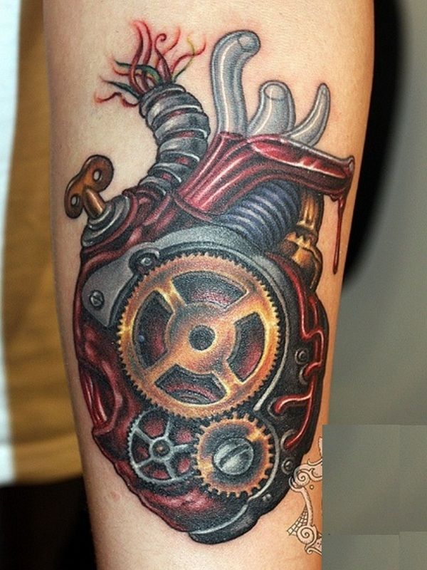 50 Best Images About Biomechanical Tattoos For Men On Ideas And Designs