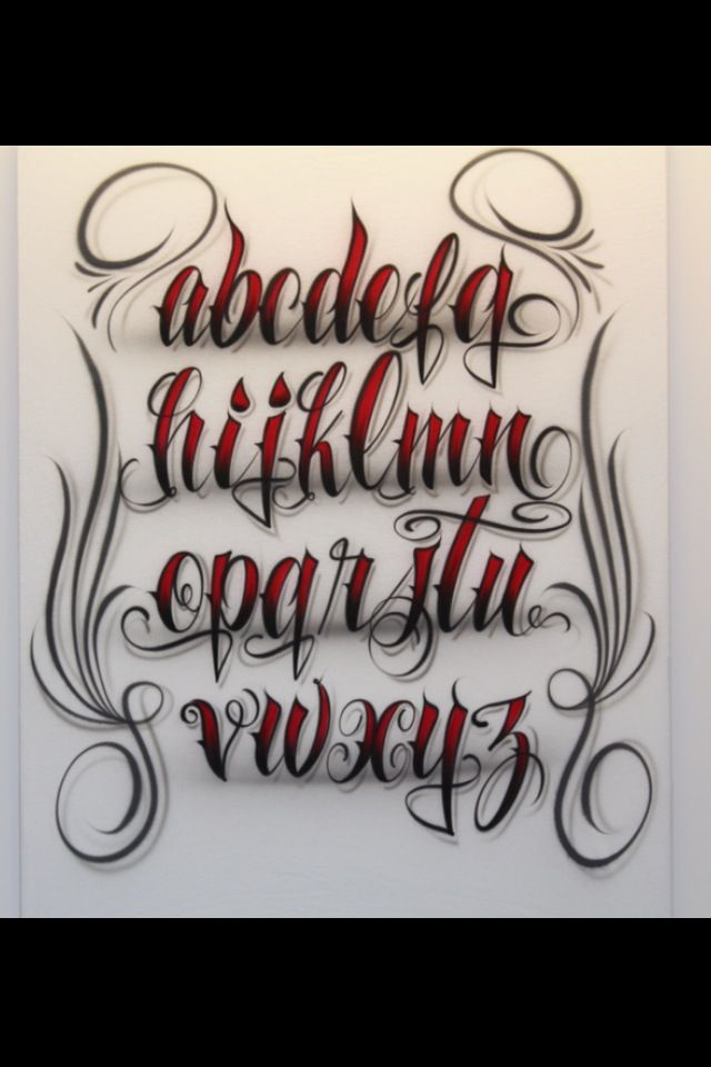 25 Best Ideas About Tattoo Lettering Fonts On Pinterest Ideas And Designs