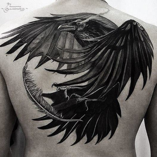25 Best Ideas About Crow Tattoos On Pinterest Raven Ideas And Designs