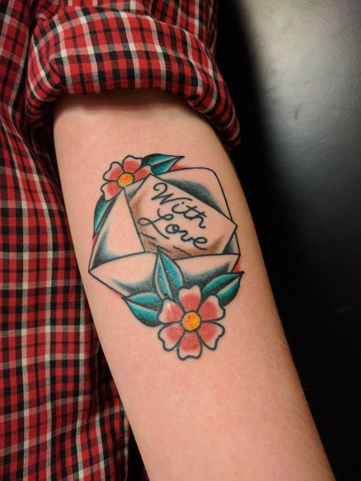 Best 25 Envelope Tattoo Ideas On Pinterest Small Ideas And Designs