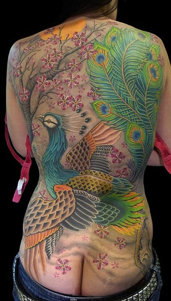 106 Best Images About Realistic 3D Peacock Tattoos On Ideas And Designs