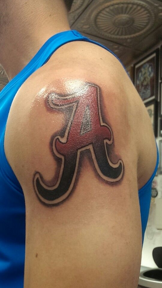 Alabama Tattoo Roll Tide Tattoos Pinterest Alabama Ideas And Designs