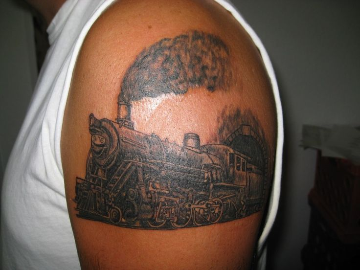 17 Best Images About Train Tattoo On Pinterest Ideas And Designs