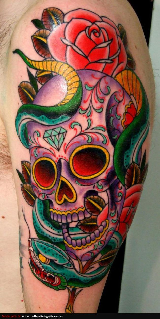 50 Best Sugar Skull Images On Pinterest Ideas And Designs