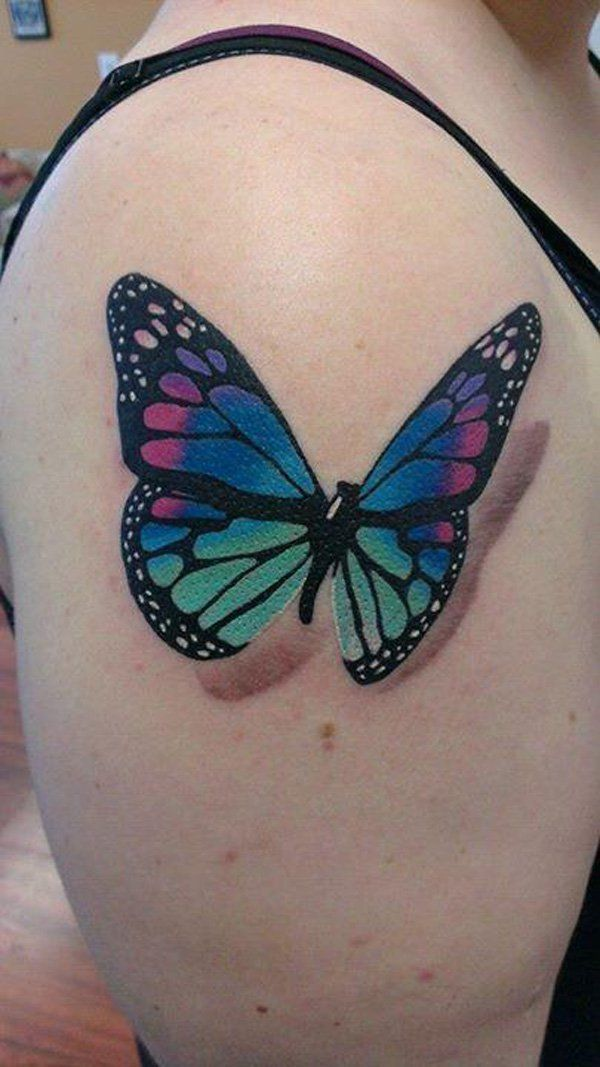 45 Incredible 3D Butterfly Tattoos Beautiful Flower Ideas And Designs
