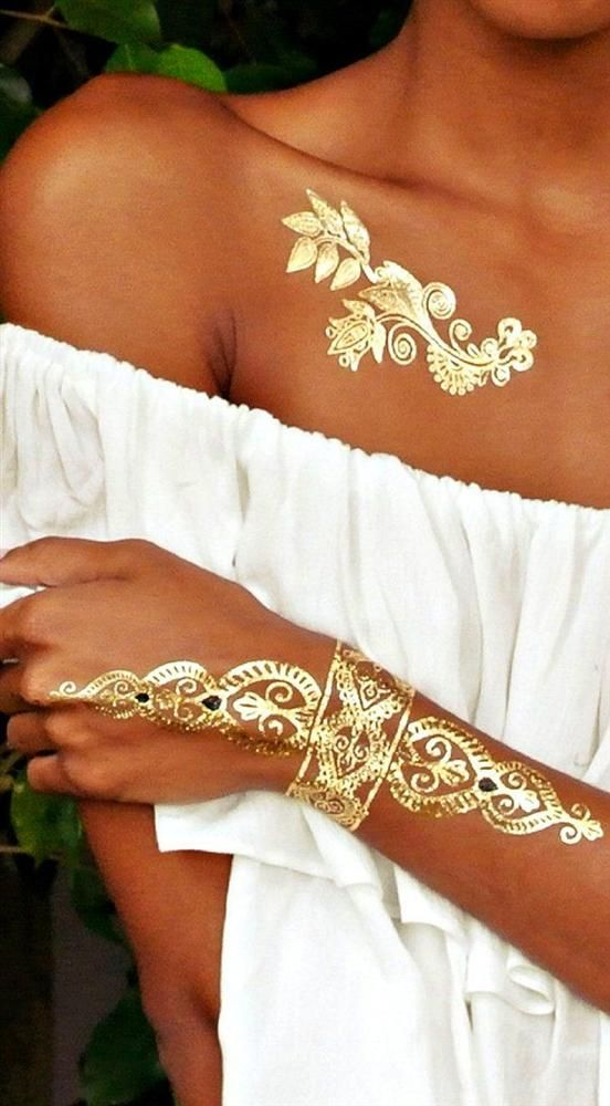25 Best Ideas About Gold Henna On Pinterest Gold Tattoo Ideas And Designs