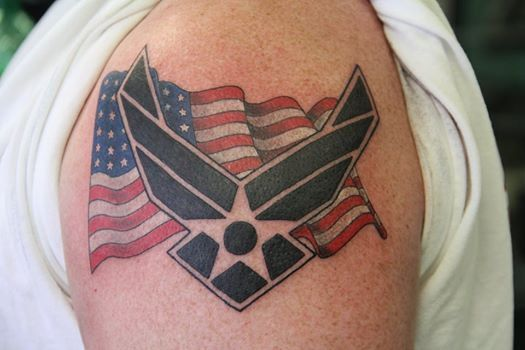 25 Best Ideas About Air Force Tattoo On Pinterest Ideas And Designs