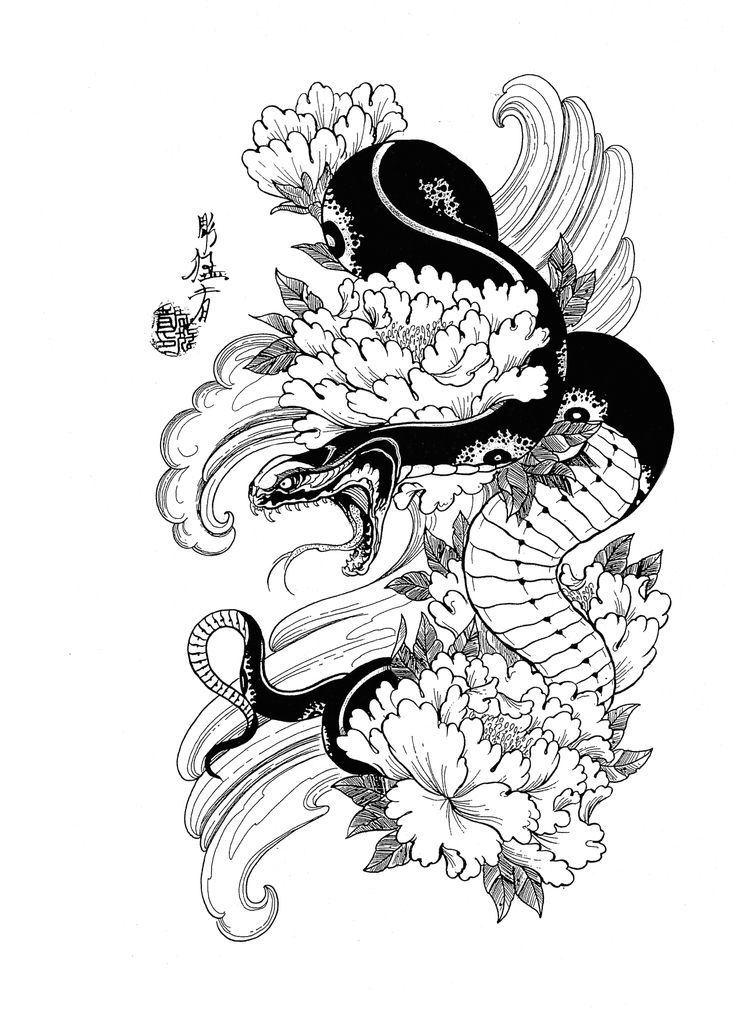 25 Best Ideas About Japanese Snake Tattoo On Pinterest Ideas And Designs