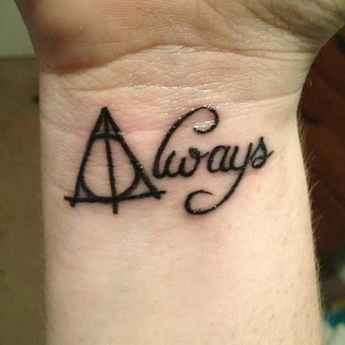 17 Best Ideas About Always Harry Potter Tattoo On Ideas And Designs