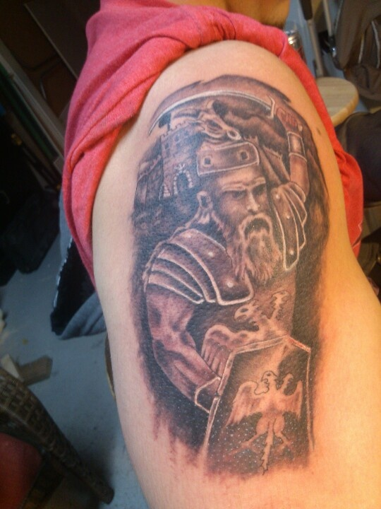 Albanian Warrior Tattoos I Ve Done Pinterest Warriors Ideas And Designs