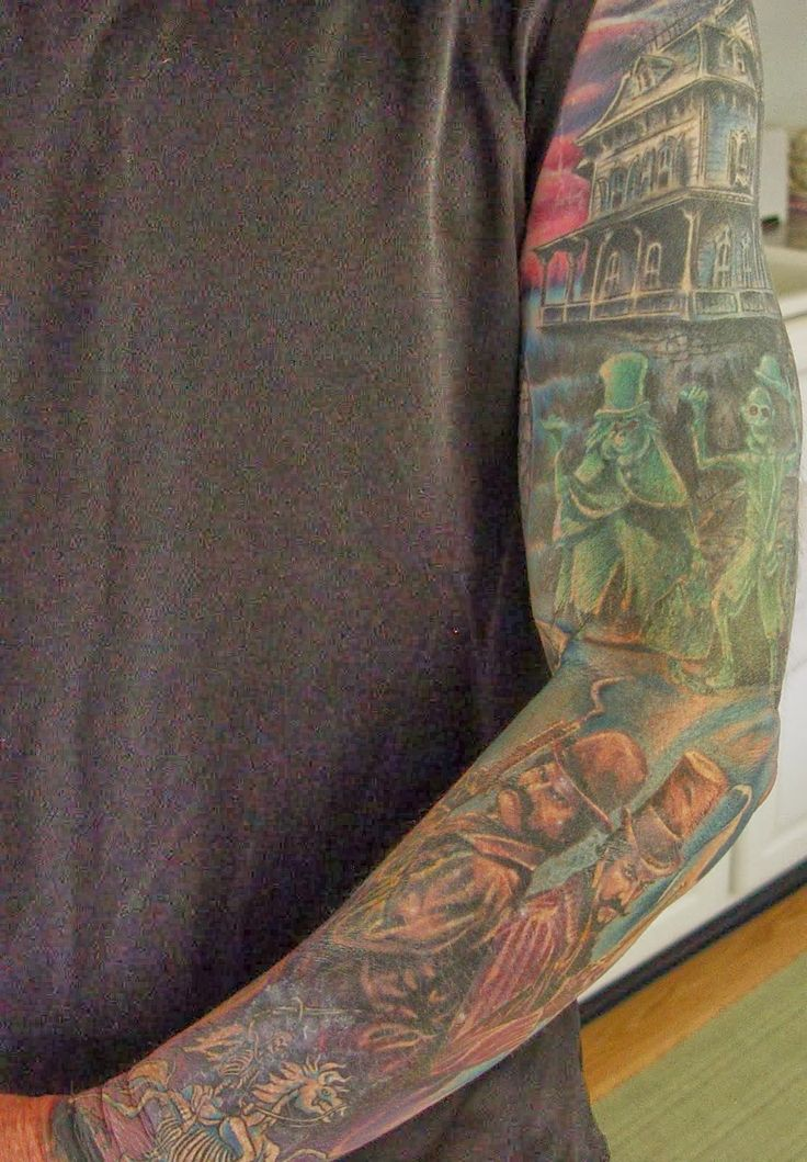 25 Best Ideas About Haunted House Tattoo On Pinterest Ideas And Designs