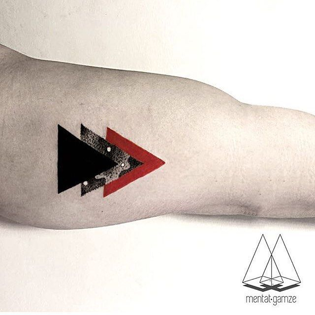 Top 25 Best Triangle Tattoos Ideas On Pinterest Ideas And Designs