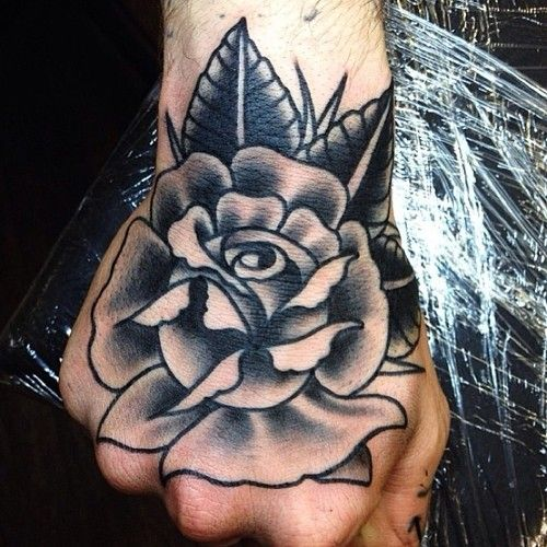 106 Best Images About Hand Tats On Pinterest Rose Hand Ideas And Designs