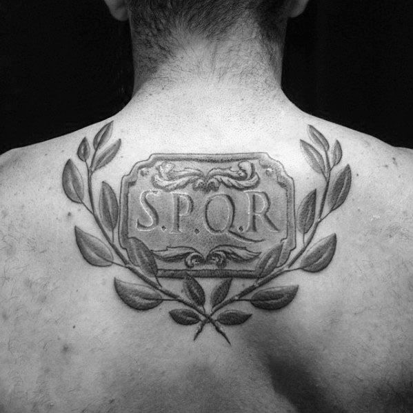 17 Best Ideas About Spqr Tattoo On Pinterest Percy Ideas And Designs