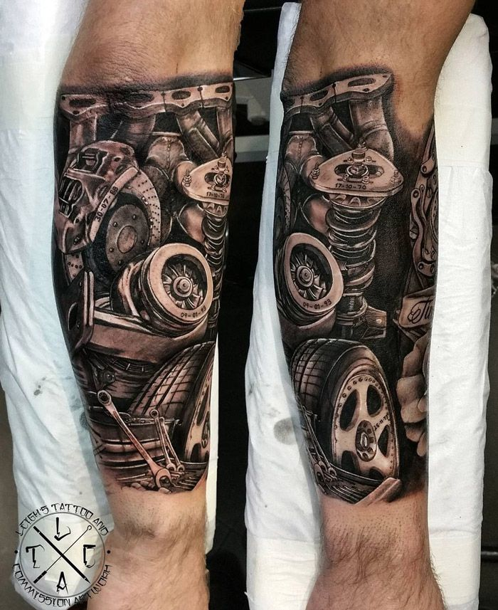 Mechanic's Forearm Tattoo Pinterest Forearm Tattoos Ideas And Designs