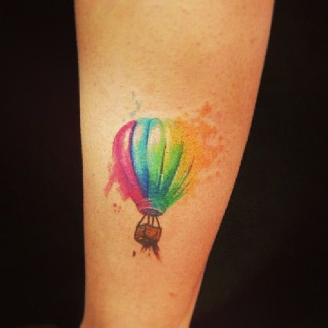 17 Best Ideas About Air Balloon Tattoo On Pinterest Ideas And Designs