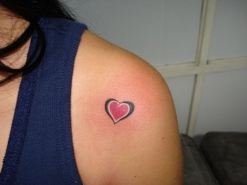25 Best Ideas About Little Heart Tattoos On Pinterest 3 Ideas And Designs