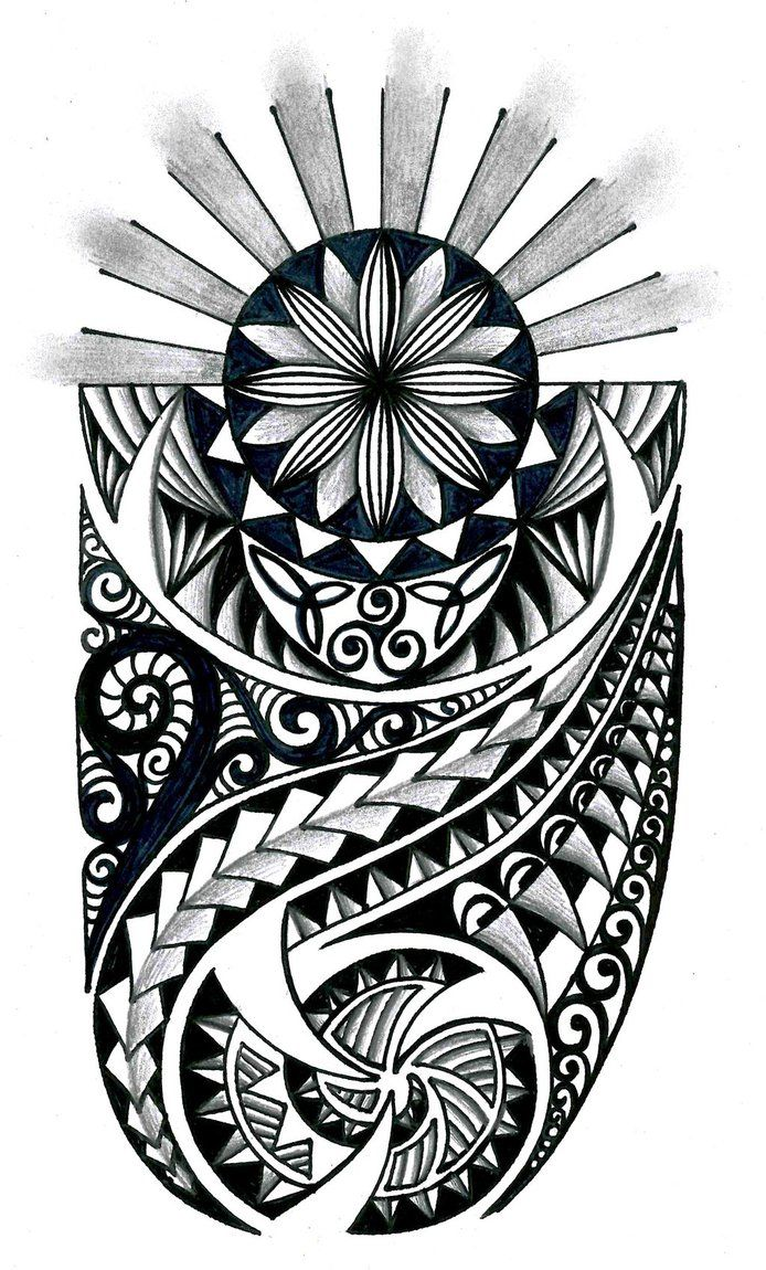 Tongan Tribal Drawings Polynesian Tribal Design With Ideas And Designs