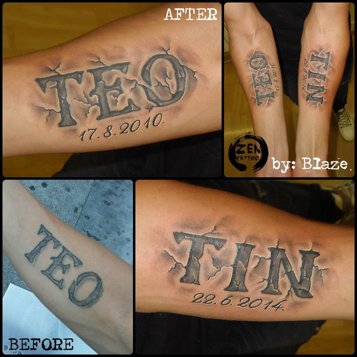 25 Best Ideas About Kid Name Tattoos On Pinterest Ideas And Designs