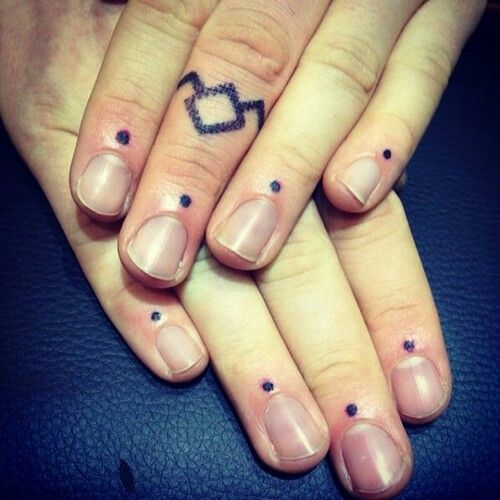 1000 Images About Dots Tattoos On Pinterest Black Work Ideas And Designs
