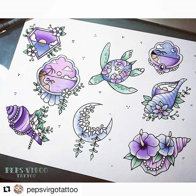 25 Best Ideas About Seashell Tattoos On Pinterest Shell Ideas And Designs