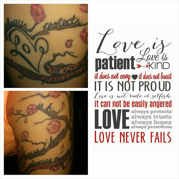 Compilation Of The 1 Corinthians 13 Arm Tattoo Hand Ideas And Designs