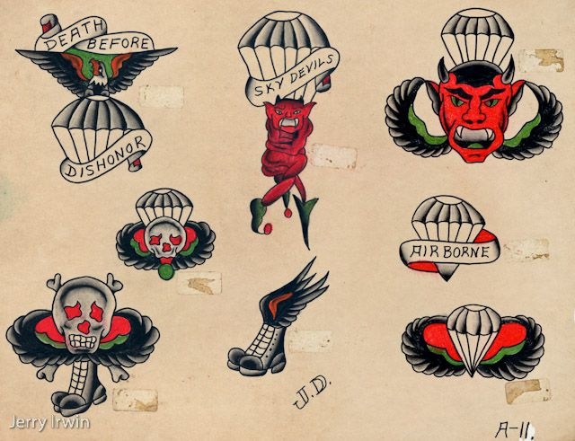 Wwii Paratrooper Tattoo Ideas Tattoos Pinterest Ideas And Designs