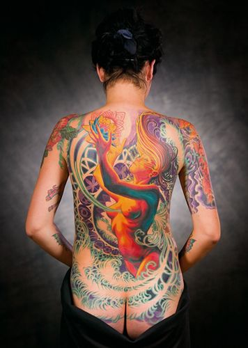 Full Coverage Adrian Lee Tattoo Body Art And Tattoo Colors Ideas And Designs