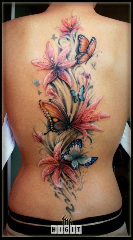 15 Latest 3D Butterfly Tattoo Designs You May Love Ideas And Designs