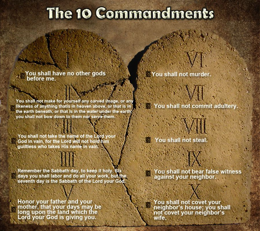 The 10 Commandments Of The Bible I Thought I Would Draw Up Ideas And Designs