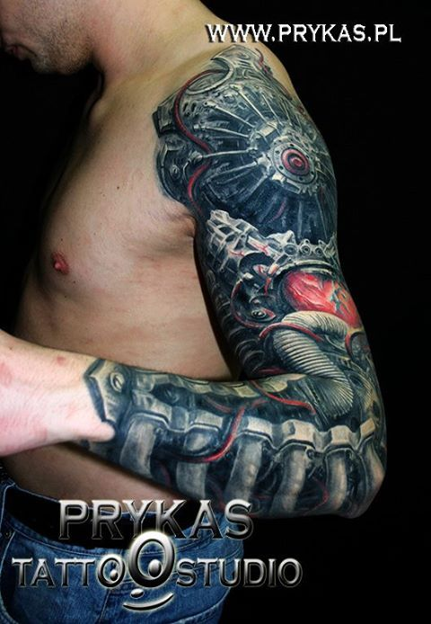 Biomechanical Tattoos Designs And Ideas Page 54 Zizu Ideas And Designs