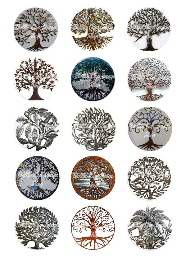 Tree Of Life Metal Collage Sheet 1 Inch By Ideas And Designs