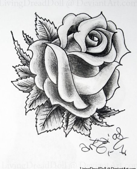 Black And White Rose Tattoo Designs 4 Inkedddd Ideas And Designs
