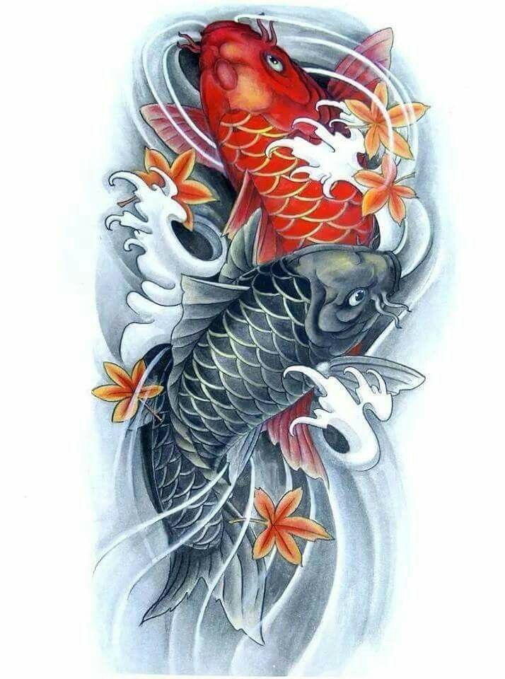 Pin By Hannibal Thompson On Koi Fish Tattoo Pinterest Ideas And Designs