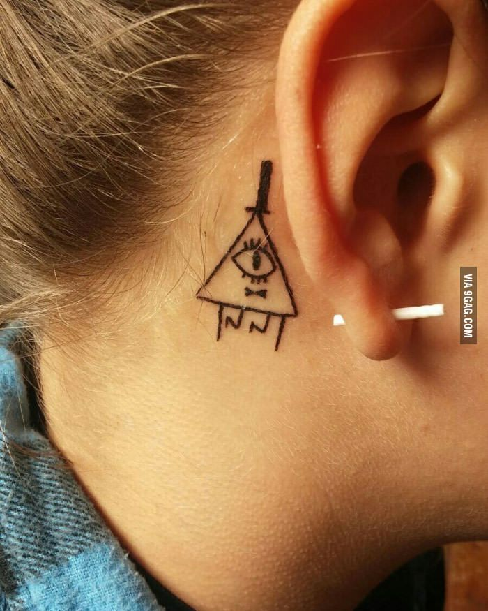 Bill Tattoo Gravity Falls Thanks For This Great Ideas And Designs