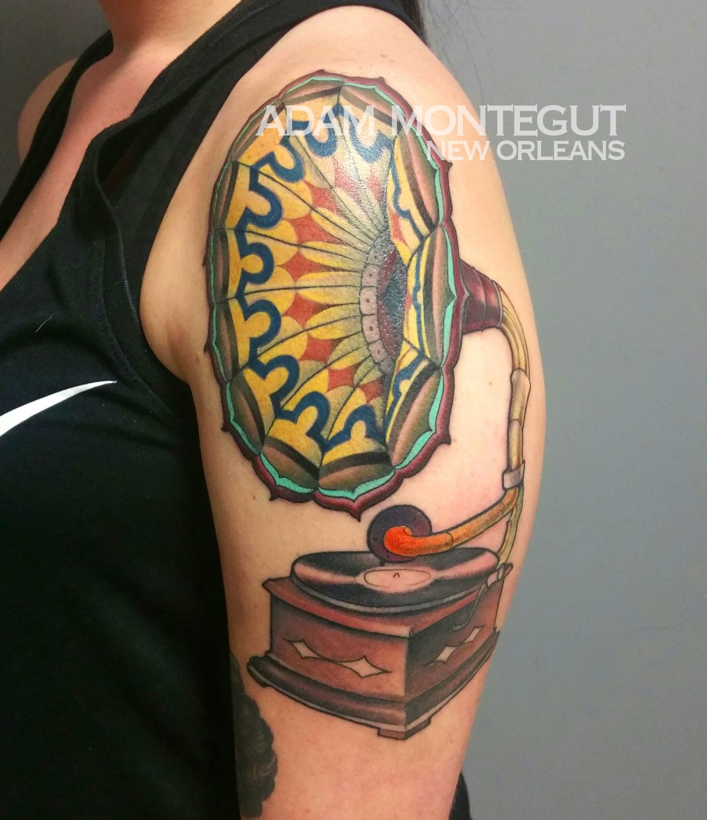 Tattoo By Adam Montegut The New Orleans Tattoo Museum Ideas And Designs